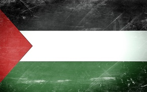 Picture flag, Texture, Palestine, Gaza