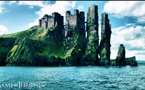 Picture Game of Thrones, game of Thrones, Castle on the rocks