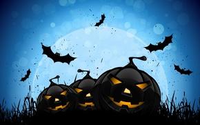 Picture horror, horror, Halloween, scary, halloween, midnight, bats, midnight, creepy, full moon, full moon, scary, creepy, …