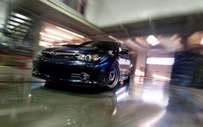 Wallpaper STi GRB, Subaru, Impreza