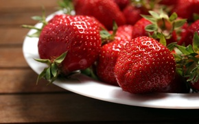 Picture red, berries, background, Wallpaper, food, strawberry, wallpaper, widescreen, background, full screen, HD wallpapers, widescreen