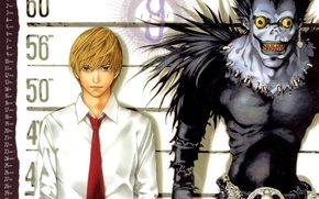 Picture monster, mouth, Death note, killer, Death note, crazy eyes, Ryuk, Yagami Light, the God of …