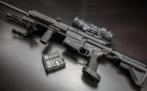 Picture Germany, sight, rifle, shop, bipod, Heckler & Koch, self-loading option, MR308, Match Rifle 308