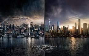 Picture batman, superman, versus, metropolis, gotham, batman vs superman, turkish airlines, flytogotham, flytometripolis