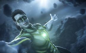 Picture Green Lantern, superhero, DC Comics, Hal Jordan