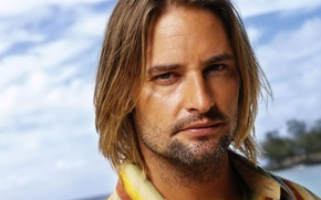 Picture actor, Josh Holloway, long hair, celebrity, rubio, hombre