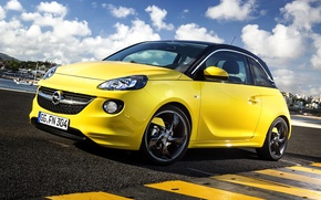 Wallpaper OPC, Opel, Adam, Slam, Line Pack, 2013, Opel, Adam