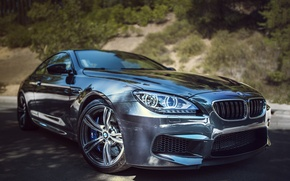 Picture BMW, Front, Coupe, Street, Silver, F13