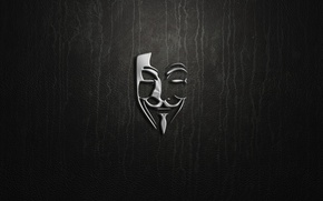 Picture silver, logo, Anonymous