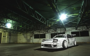 Picture Machine, Nissan, grey, Nissan, Tuning, JDM, 180sx