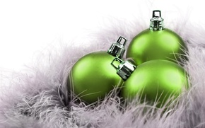 Picture decoration, background, holiday, balls, Wallpaper, new year, picture, Christmas decorations
