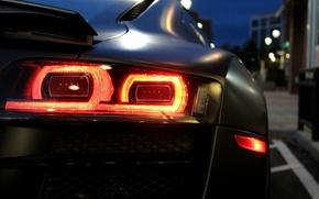 Picture machine, auto, lights, auto, Audi R8 V10
