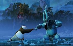 Picture landscape, mountains, cartoon, adventure, action, Comedy, Kai, Kung Fu Panda 3, Kung fu Panda 3