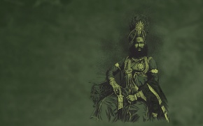 Picture people, blade, Maharaja de Panda Green, Sheikh