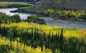 Picture river, yukon, river