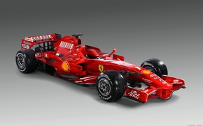 Wallpaper red, Ferrari, the car, Formula-1