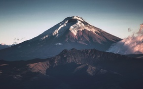 Picture volcano, volcanic, Cotopaxi