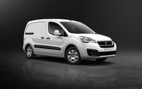 Wallpaper Van Electric, Peugeot, 2015, Partner, Peugeot