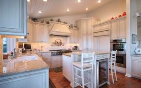 Picture design, photo, chairs, interior, kitchen