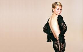 Picture Kirsten Dunst, dress, pretty, blonde, actress, black dress