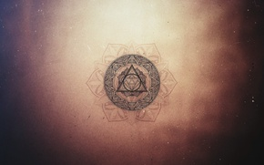 Picture Triangle, Minimal, Geometry, Triangle, Geometry