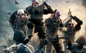 Picture axe, sword, gun, weapon, bird, police, ken, SWAT, cap, flag, death, assassin, bow, mask, headset, ...