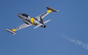 Picture the plane, Canadair, training, CT-133, Silver Star