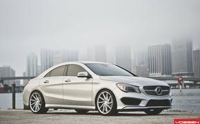 Picture Mercedes-Benz, Mercedes, CVT, Vossen, CLA