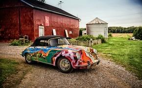 Picture Porsche, convertible, Porsche, Cabriolet, 356