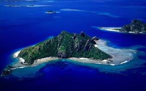 Picture sea, island, top