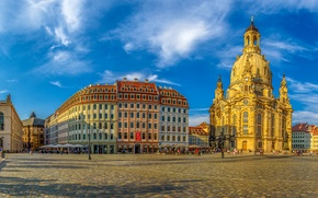 Picture the sun, HDR, Germany, Dresden, area, Germany, Dresden