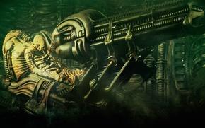 Picture stranger, pilot, alien, the space jockey