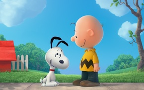 Picture Beagle, Snoopy, The Peanuts, Woodstock, Snoopy and Charlie