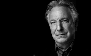 Picture portrait, actor, Alan Rickman