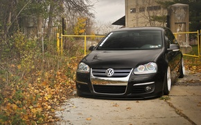 Picture black, volkswagen, black, Golf, golf, Volkswagen, MK5