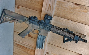 Picture weapons, AR-15, BCM, assault rifle
