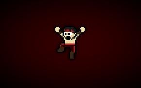 Picture Mortal Kombat, Liu Kang, pixel