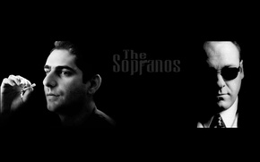 Picture The series, The Sopranos, Christopher Moltisanti, Tony Soprano, Tony Soprano, Christopher Moltisanti, Family Soprano, The …