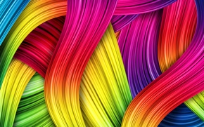 Picture colors, colorful, abstract, patterns, lines