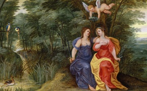 Picture picture, Jan Brueghel the younger, Allegory of Peace and Order