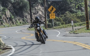 Picture road, bike, power, motorcycle, custom, speed, cruiser, Keanu Reeves, Arch, v-twin, krgt-1