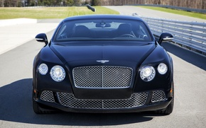 Picture lights, Bentley, the hood, grille, front view, Continental GT Speed, The Le Mans Edition