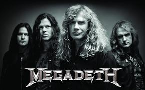 Picture metal, metal, rock music, thrash metal, Megadeth, Drover, megales, Mustaine, Broderick, Ellefson, MEGADETH, mitol