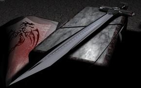 Wallpaper weapons, sharp, sword, dragon