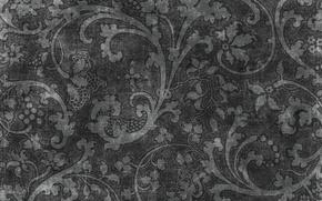 Picture black, vintage, texture