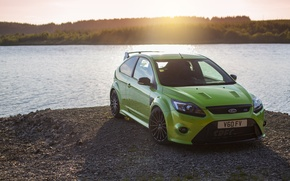 Picture green, Ford, water, focus