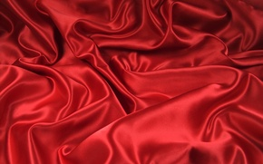 Picture red, curves, fabric, folds