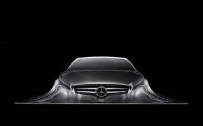 Wallpaper Mercedes Benz, Sculpture, Design