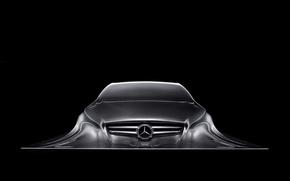 Wallpaper Sculpture, Mercedes Benz, Design