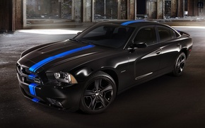 Picture black, Dodge, charger